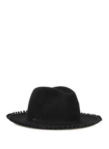 Alessandra Zanari Şapka Siyah